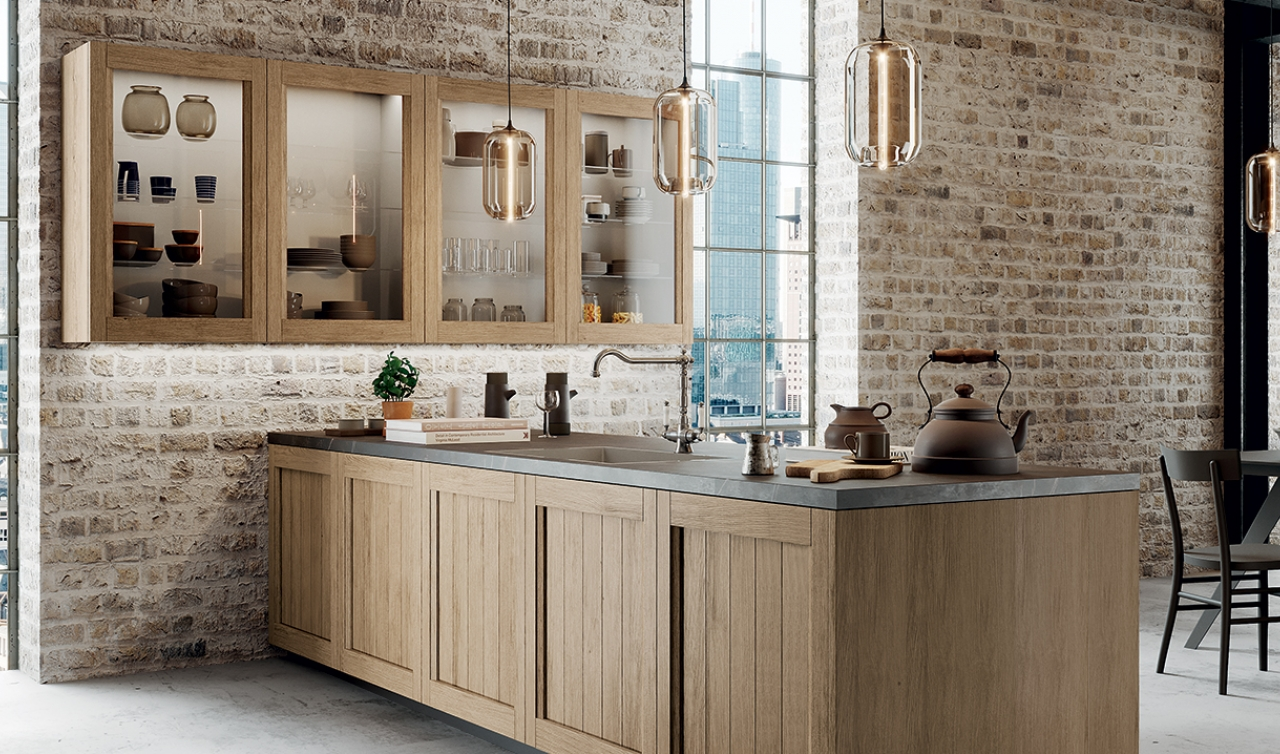 Cucine in legno consigli di stile per uno spazio attuale for Cucine arredo tre