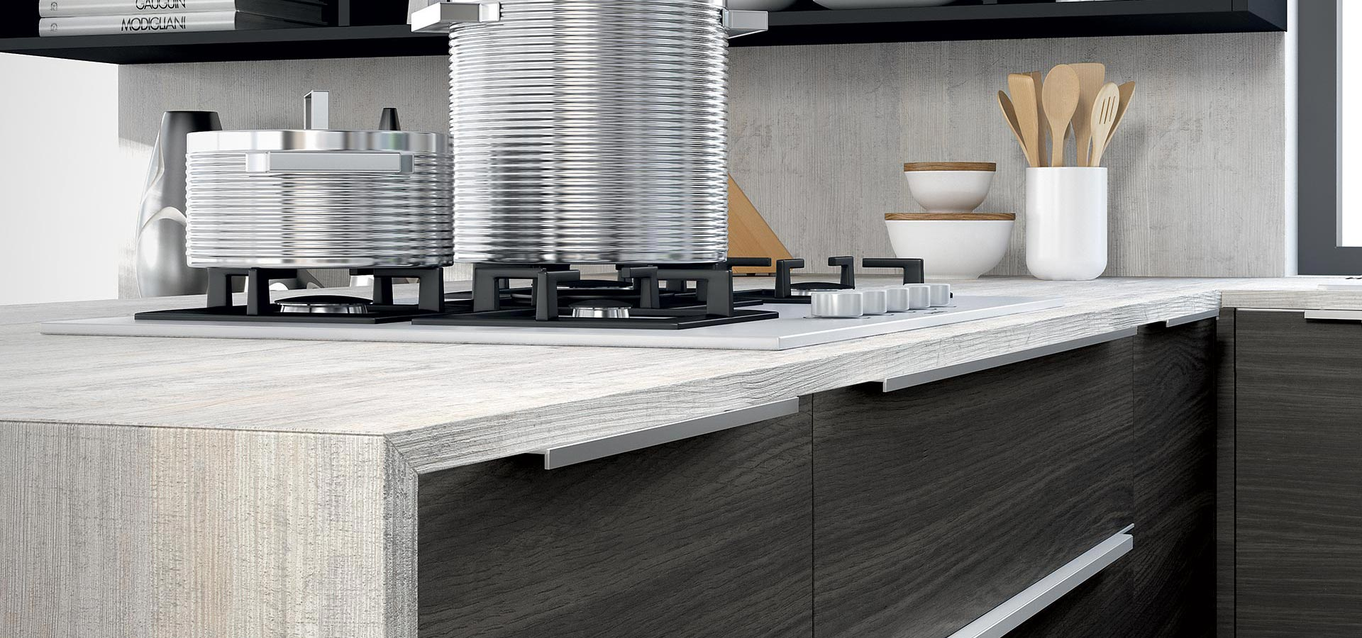 I migliori materiali per rivestire il piano cucina - Blog - Design ...