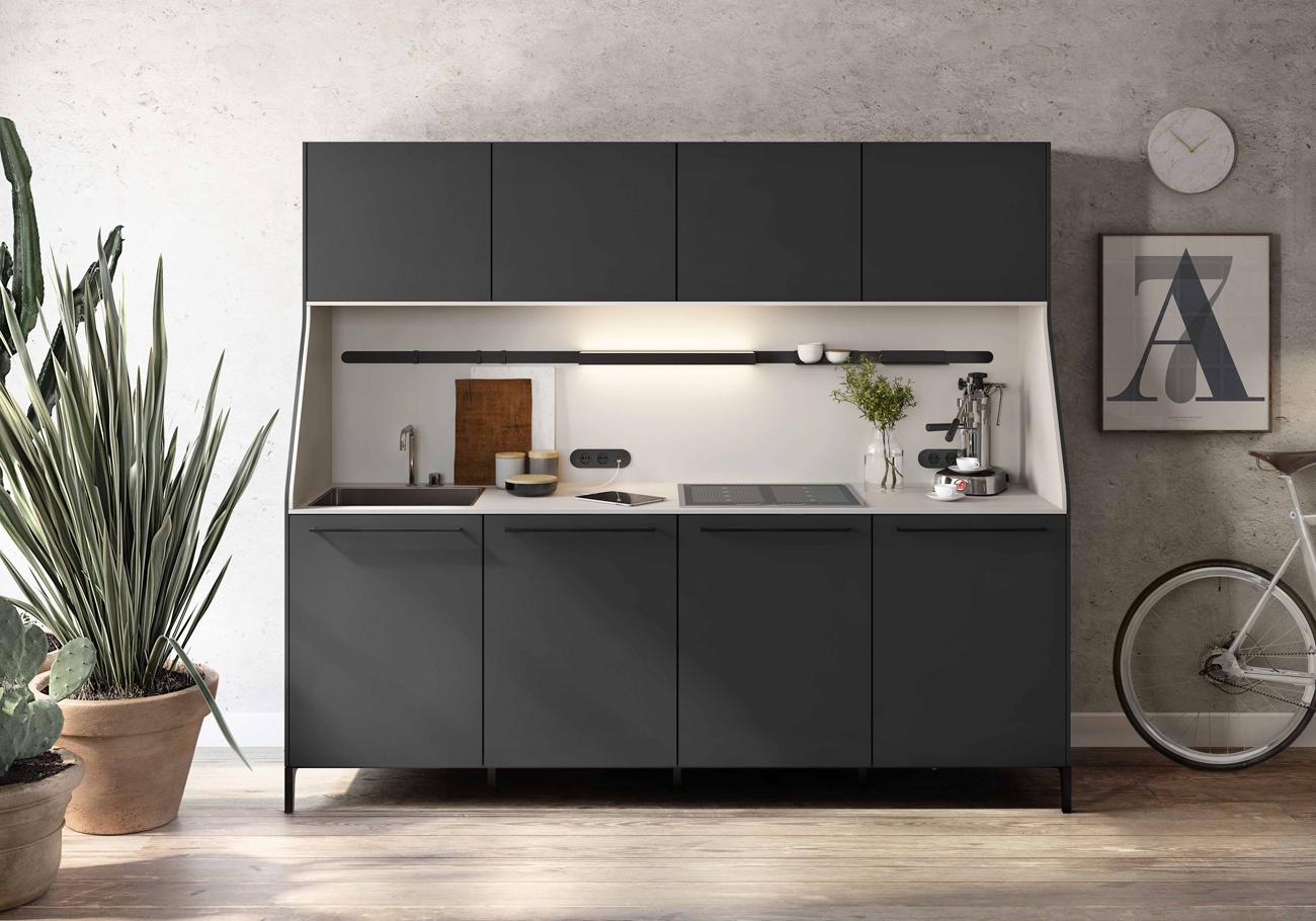 Come allestire una cucina piccola funzionale e di design for Piccola cucina a concetto aperto