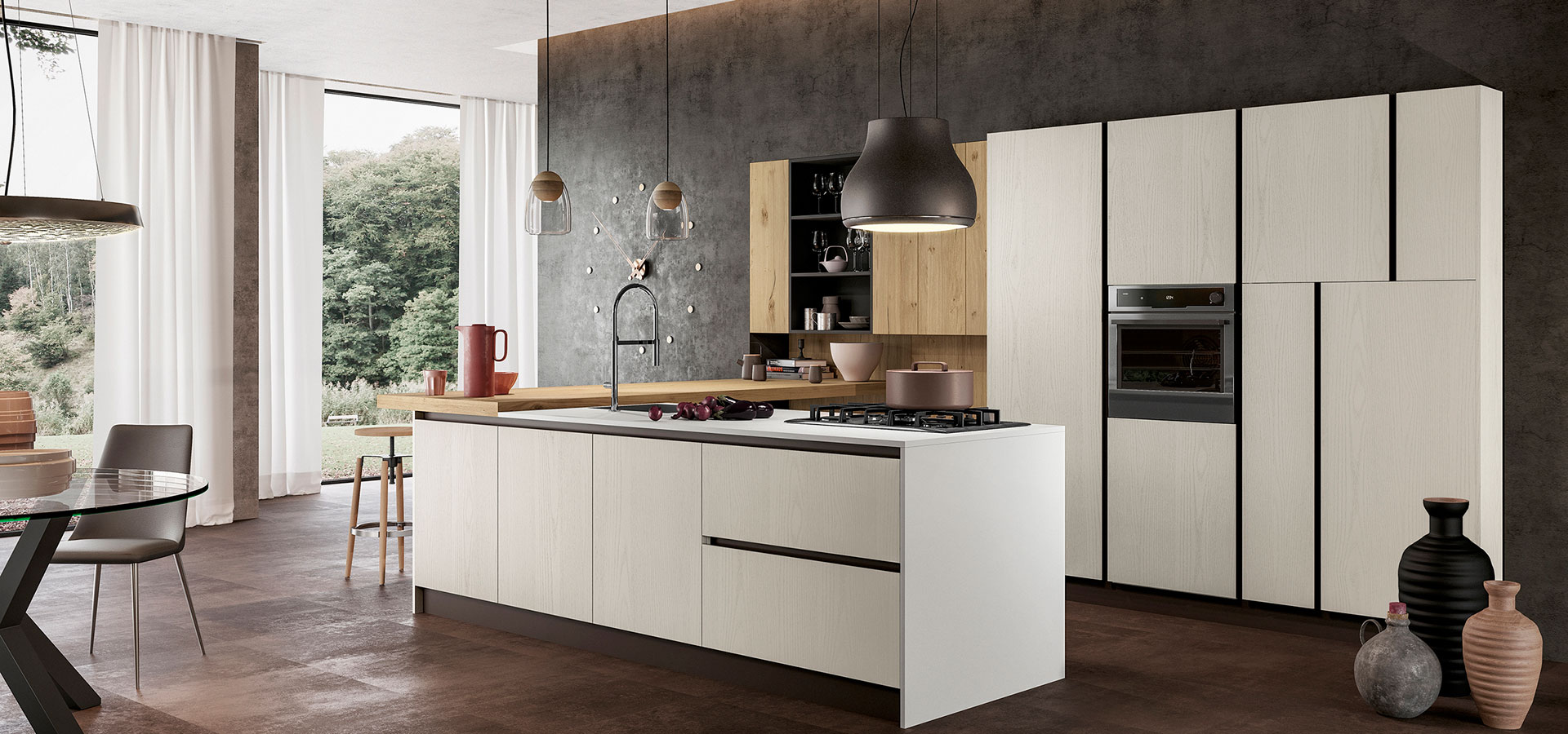 Cucine moderne arredo3 i 5 modelli da non perdere blog - Ambientazioni cucine moderne ...