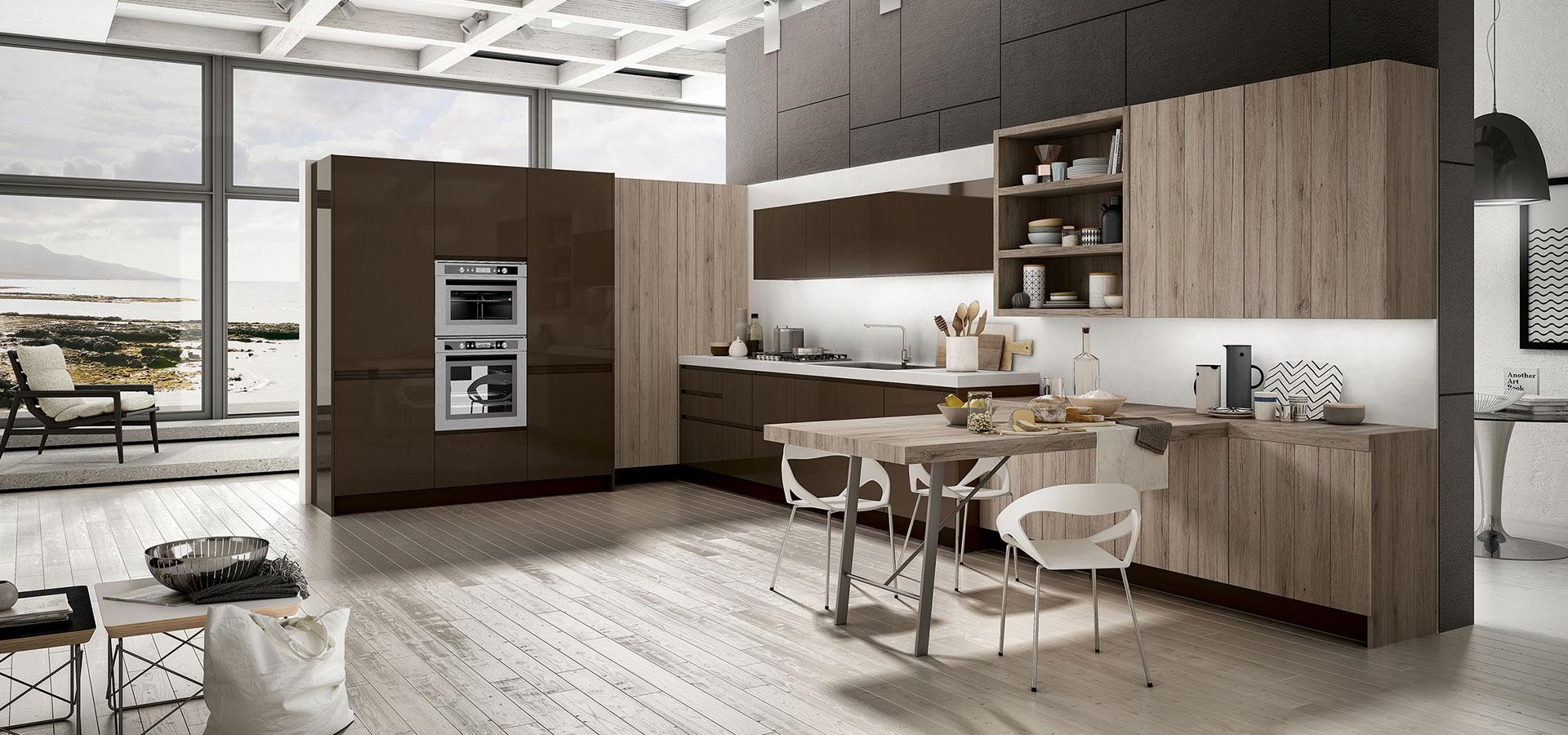 Cucine bicolore: pro e (pochi) contro di una scelta di ...