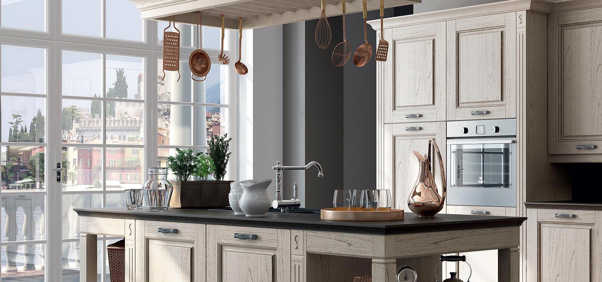 Verona cucine classiche cucine componibili design 360 roma - Cucine classiche roma ...