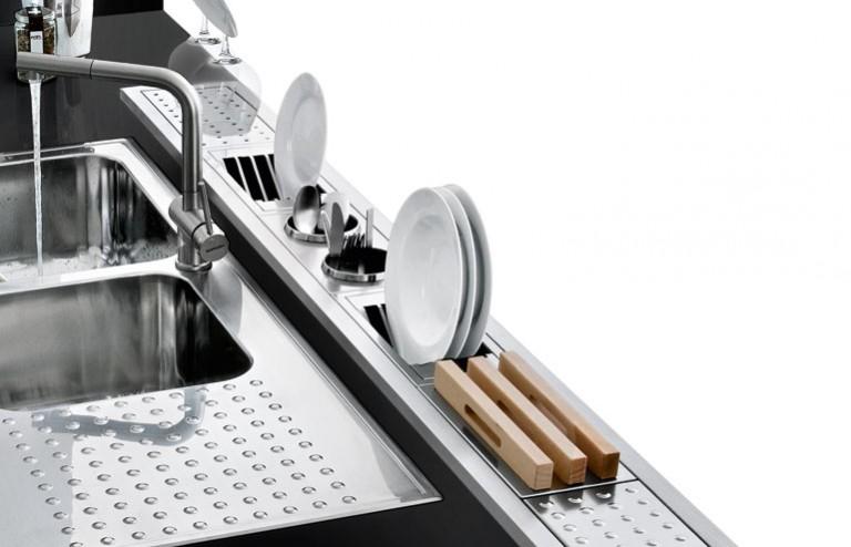 Cucina senza pensili ottimizzare funzionalit e design si puo 39 ecco come blog design 360 roma - Canale attrezzato valcucine ...