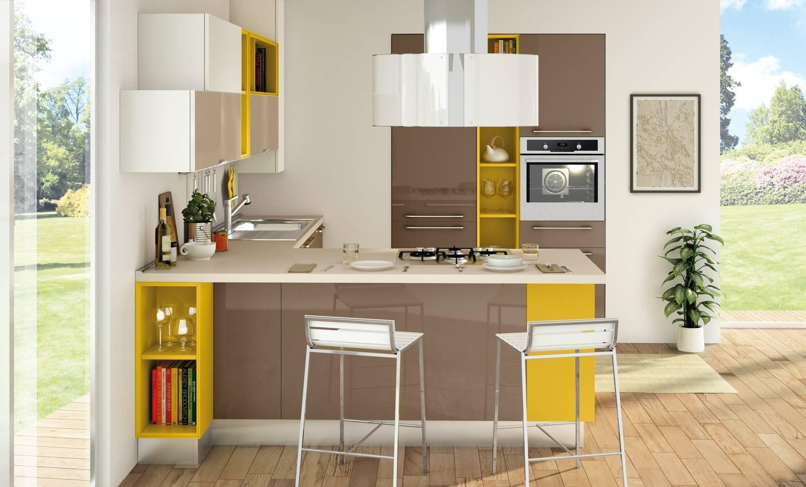 Come allestire una cucina piccola, funzionale e di design ...