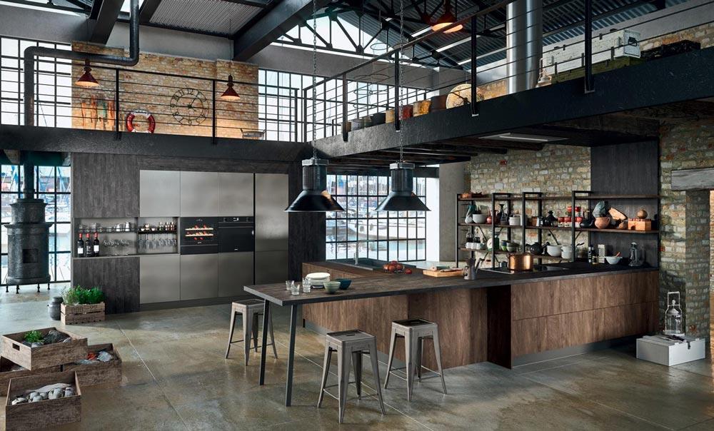 Arredare una cucina in stile industriale con Asia di Arredo3 ...