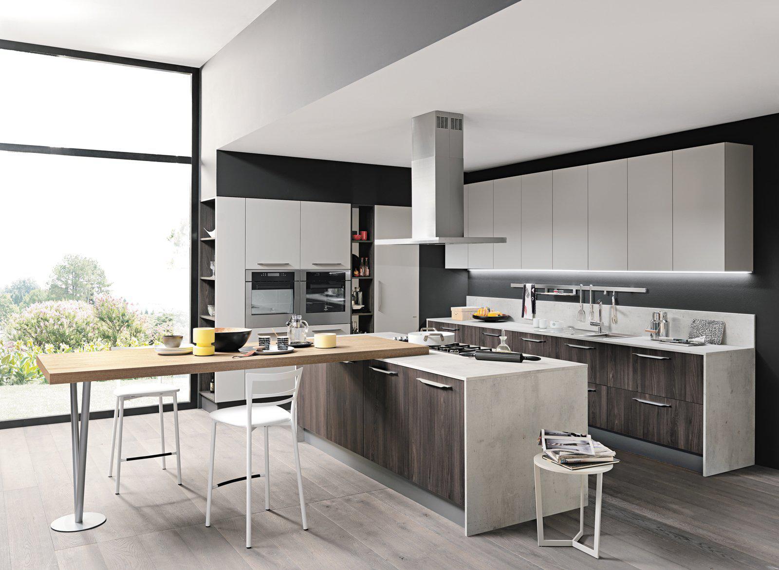 Idee Cucine Moderne Con Isola.Arredare Una Cucina Con Isola Vantaggi Soluzioni E Idee