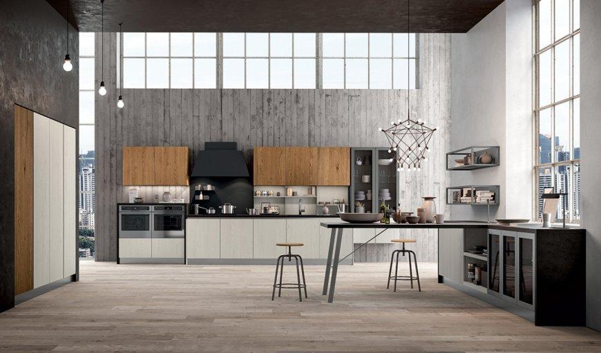 Arredare una cucina in stile industriale con Asia di Arredo3 - Blog ...