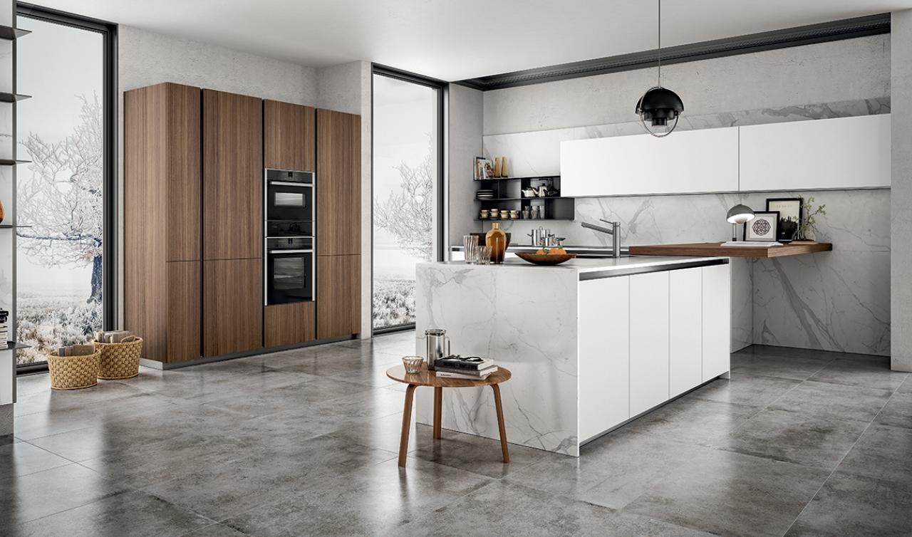 Arredare una cucina con isola vantaggi soluzioni e idee for Arredare la cucina