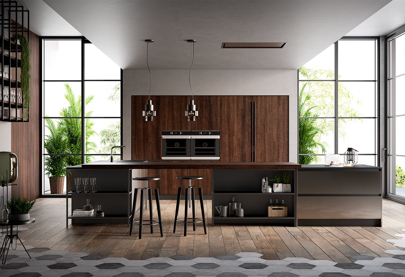 Cucine economiche cloe aria e kal il low cost for Tavoli design low cost