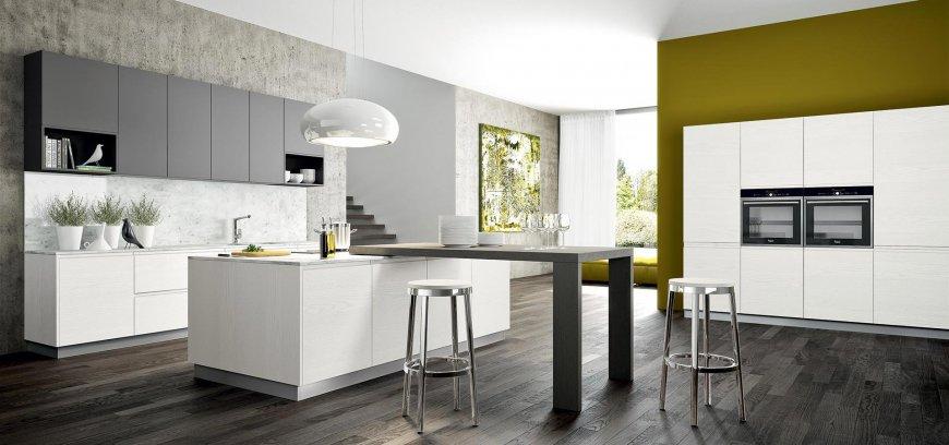 Immagini Di Cucine Moderne Bicolore.Cucine Bicolore Pro E Pochi Contro Di Una Scelta Di