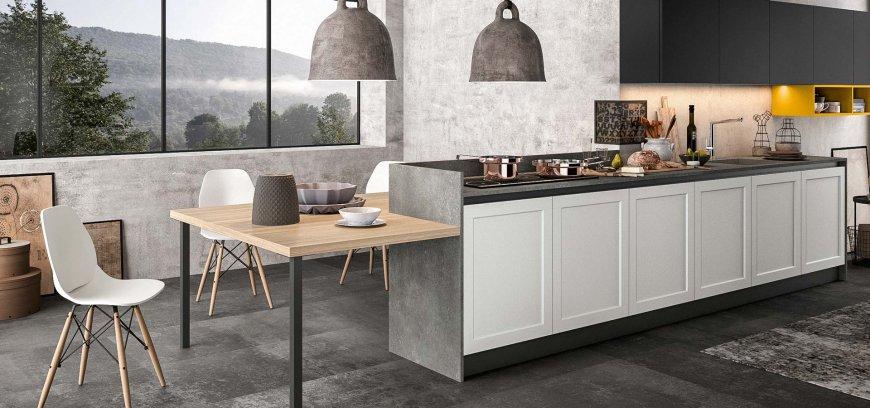 Cucine con penisola funzionalit ed estetica in un unico concetto d 39 arredo blog design 360 roma - Arredo3 cucine rivenditori ...