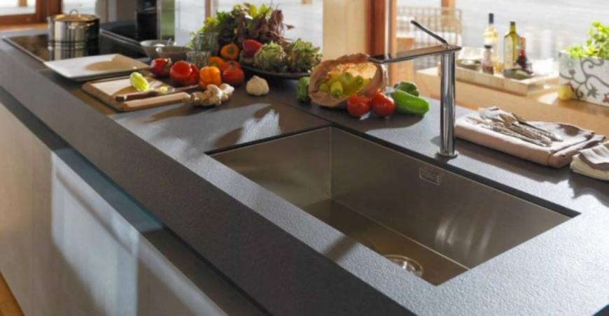 Lapitec, la nuova frontiera dei piani di lavoro in cucina ...
