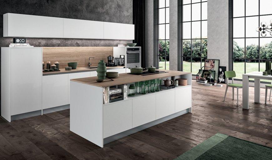 Come allestire una cucina piccola funzionale e di design for Arredo cucina design