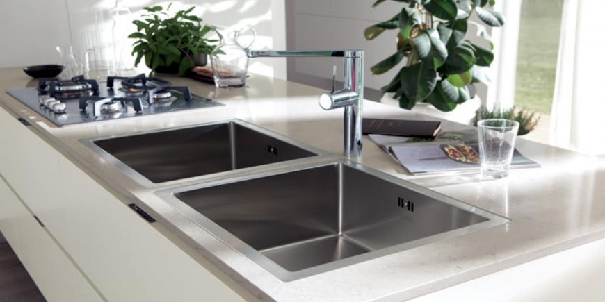 Il piano in quarzo caratteristiche e vantaggi di sceglierlo in cucina blog design 360 roma - Piano cucina quarzo ...