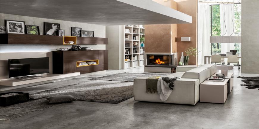 Come arredare il soggiorno moderno spunti e idee per un for Idee arredo soggiorno moderno