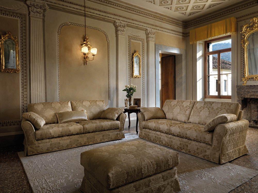 Diva divani classici divani design 360 roma for Soggiorni e salotti