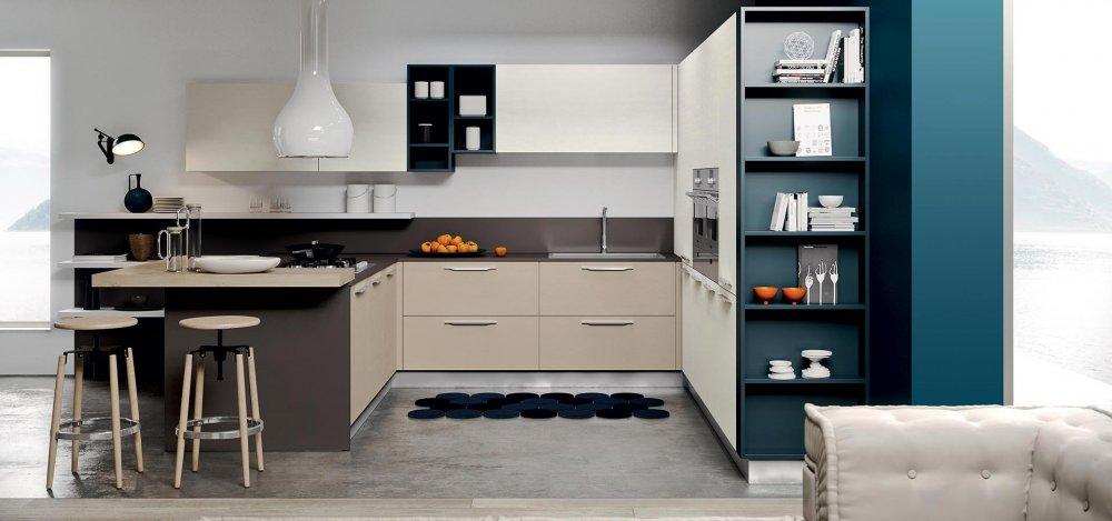 Luna - Cucine Moderne - Cucine Componibili - Design 360 Roma