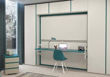 Camerette salvaspazio camerette design 360 roma for Camerette ragazzi salvaspazio