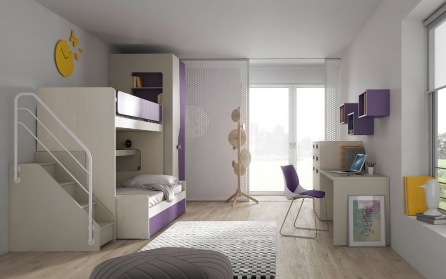Salvaspazio camerette salvaspazio camerette design - Camerette salva spazio ...