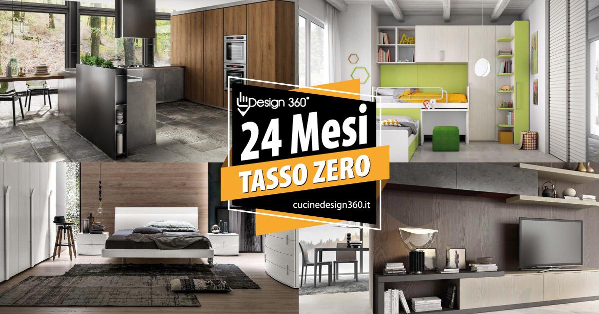 Finanziamenti tasso zero su cucine e arredamenti design